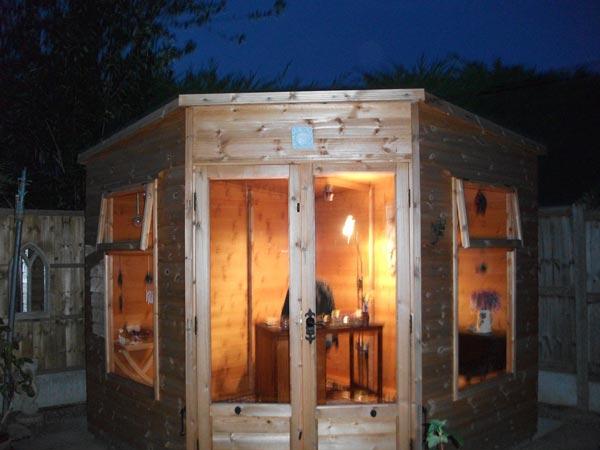 Writing studio summerhouse